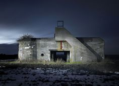 WORLD WAR II BUNKERS, AS CAPTURED BY PHOTOGRAPHER JONATHAN ANDREW.