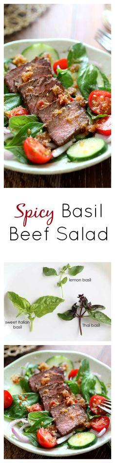 Rare Tuna Salad with Avocado and Daikon Sprouts | Recipe | Tuna, Salad ...