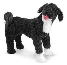 Portuguese Water Dog Dog Giant Stuffed Animal. now $35.99