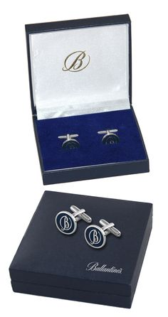 Customized Cufflinks for Ballantine's by Crea - India's smartest brand merchandising company.
