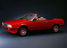Maserati Biturbo Spyder- they look better when they're not catching fire like mine!