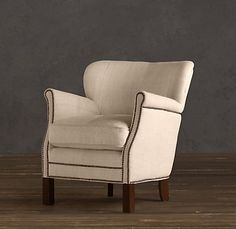 Professor's Upholstered Chair | Upholstery | Restoration Hardware