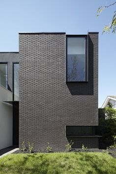 cut-outs and dark brick