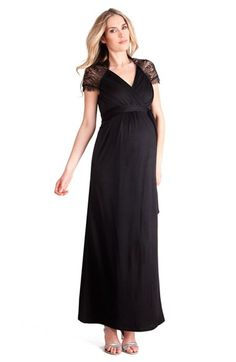 Seraphine+'ChelseyLuxe'+Cap+Sleeve+Maternity+Dress+available+at+#Nordstrom