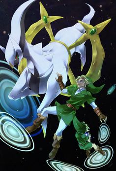 Link and Arceus