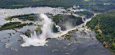 Fotos sensacionais das Cataratas do Iguaçu - Belezas Naturais