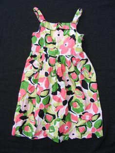 Gymboree Floral Cotton Sun Dress, 100% Cotton, Girls Size 8 #Gymboree