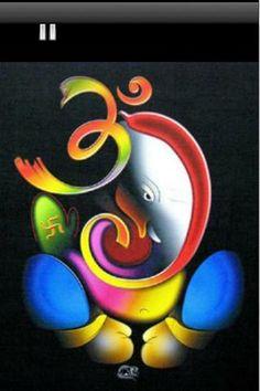 ganapati name calligraphy - Google Search