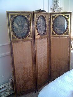 spectacular french folding screen