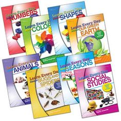 Learn Every Day™ Series (Set of 8) #PinIt2WinIt