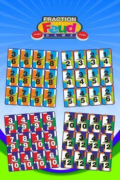 Fraction Feud: Comparing Fractions Game | Math File Folder Games
