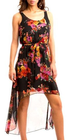 a896e6cf2c462 Dress Club Women s Plus Size Sleeveless Autumn Blossom Sundress