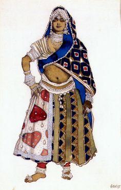le-dieu-bleu-bayadere-1912.jpg (640×1004)