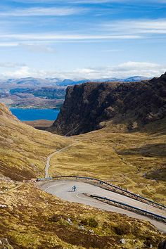 Looking down to Loch Kishorn from the Bealach Na Ba (Pass Of The Cattle), Applecross, Wester Ross England Ireland, England And Scotland, Great Places, Places To See, Wester Ross, North Coast 500, Orkney Islands, Holiday Places, Scottish Highlands