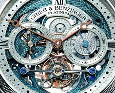 Grieb & Benzinger restoration of the iconic and very rare Tourbillon Pour le Mérite by A. Lange & Söhne