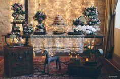 decoração casamento vintage rústica