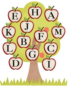 Freebielicious:  Letter Match (also Fall Leaves)