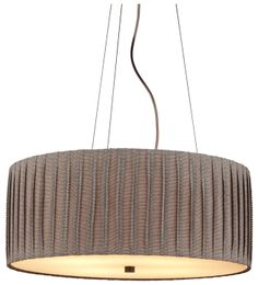 LBL Lighting Cato Satin Nickel Gray Suspension Incandescent Hanging Chandelier - The Home Depot Foyer Pendant, Light Satin, Pendant Lighting, Suspension Light, Hanging Chandelier, Lighting, Pendant Light, Drum Pendant Lighting, Lbl Lighting