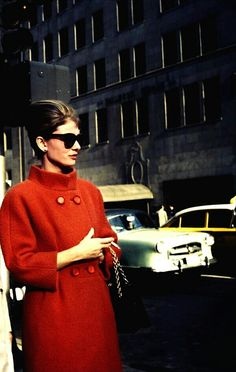 Audrey Hepburn in New York