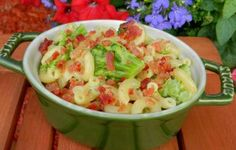 Broccoli Macaroni and Cheese with Bacon Recipe #forthehubs