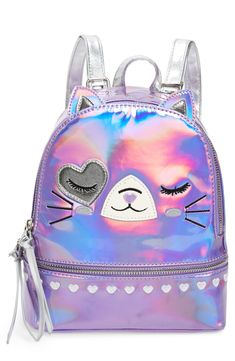 Girl's Under One Sky Mini Cat Backpack - Pink Girl's Under One Sky Cat Backpack - Pink Cute Mini Backpacks, Girl Backpacks, School Backpacks, Cute Purses, Purses And Bags, Justice Bags, Claire's Accessories, Cat Backpack, Travel Handbags