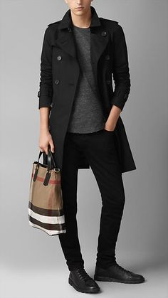 BURBERRY Susanna Medium Canvas/Calfskin Tote Bag, Saddle ...