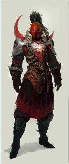 Evil Knight, Death Knight, Dragon Knight, Dragon Armor, Red Knight, Knight Armor, Dark Fantasy, Fantasy Armor, Medieval Fantasy