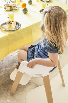Party time with Stokke Steps high chairs!  @MY FULL HOUSE Blog