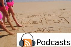 """""""2 Pods and a Microphone"""" 2 married podiatrists answering your questions with a little bit of humor! Turn the static Pin into a question on our Podcast. If we say your name on the air you get some Center for Ankle and Foot Care Swag! Click the Picture link and fill out the form to hear your question on the air:)"""