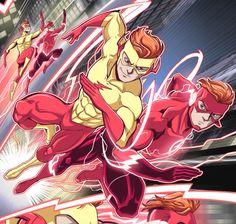 Wally vs Wally, Kid Flash vs Flash