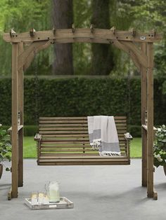 Pergola with Swing from Sam's Club