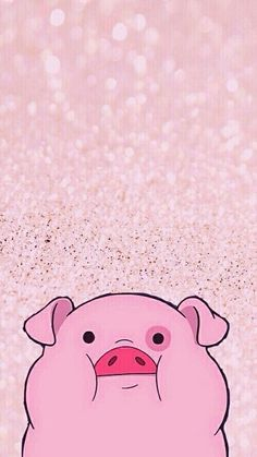 Uploaded by ♡Itiel♡. Find images and videos about pink, wallpaper and gravity falls on We Heart It - the app to get lost in what you love. Pig Wallpaper, Funny Phone Wallpaper, Fall Wallpaper, Cute Disney Wallpaper, Animal Wallpaper, Pattern Wallpaper, Cute Wallpaper Backgrounds, Tumblr Wallpaper, Cute Cartoon Wallpapers