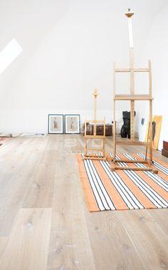 eiken planken | rustiek | getrommeld | gerookt | krijt | patine | atelier | opgeleverd door BVO Vloeren
