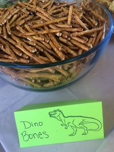 ROAR! Fun Dinosaur Themed Birthday Party Food! Dino bones, dinosaur birthday party, summer party, boy birthday party.