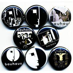 Bauhaus 8 NEW button badge pin band goth death rock post-punk bela lugosi/'s dead