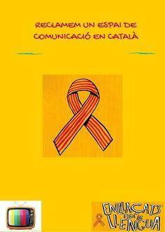 Enllaçats per la Llengua reclama la reciprocitat de tots els canals de ràdio i televisió en català ! directe!cat, 31 D'OCTUBRE DE 2015
