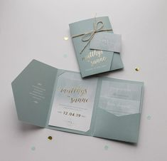 most popular Trouwkaart pocketfold Matthijs & Sanne Invitation Card Design, Rustic Invitations, Wedding Invitation Design, Wedding Stationary, Pocketfold Wedding Invitations, Party Invitations, Classic Wedding Invitations, Wedding Card Design, Invites