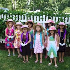 Victorian Tea party for little girls! Buy some cheap hats, dollar ...