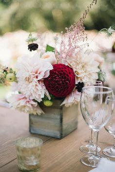 Unbelievable DIY Wedding Florals Created by the Bride & Groom