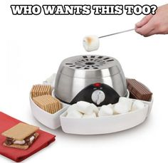 Here is one gadget that every geek needs this winter to make S'mores at home.