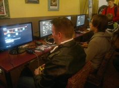 Setting up a Call Of Duty: Black Ops II game at this month's Trenchtown e-sports event. Black Ops, Call Of Duty, Tech, Events, Games, Sports, Ideas, Technology, Happenings