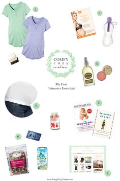 My 1st Trimester Pregnancy Essentials | Comfy Cozy Couture | Maternity Must Haves