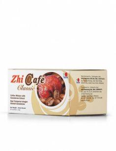 ZhiCafe Classic framställs av Ganodermaextrakt och perfekt rostade kaffebönor. Denna dryck har en mjuk smak och en fantasktiskt fyllig arom som gör att den är ett perfekt val att börja dagen med. Du kommer att bli enormt förtjust i det färskt rostade kaffets smak och doft. Kan bli ett utmäkt val om du längtar efter ett filterkaffe med en behagligt mjuk smak!