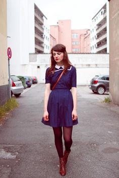 vintage // street style // preppy hipster
