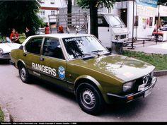 Old Police Cars, Military Police, Emergency Vehicles, Police Vehicles, Italian Police, Alfa Romeo Cars, Concept Cars, Ranger, Ferrari