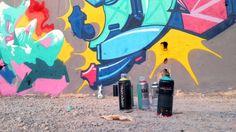 Grafitis a favor del reloj en http://www.yorokobu.es