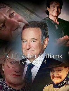 R.I.P MY #1 ACTOR ROBIN WILLIAMS !!!