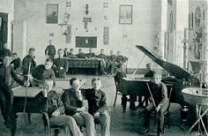 In a small town Khyriv in modern Ukraine, when it was ruled by Austro-Hungarian Monarchy, there was a very famous gymnasium of religious type. It was the best according to the education level back then all over the country at the beginning of the 20th Century.