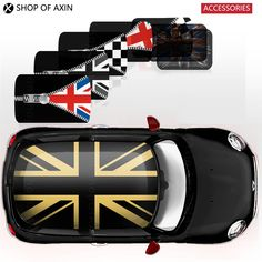 creative full whole cover roof Graphics stickers decal for MINI Cooper clubman countryman hardtop R50 R53 R55 R56 R60 F55 F56 on Aliexpress.com | Alibaba Group