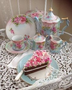 Beautiful Tea Set